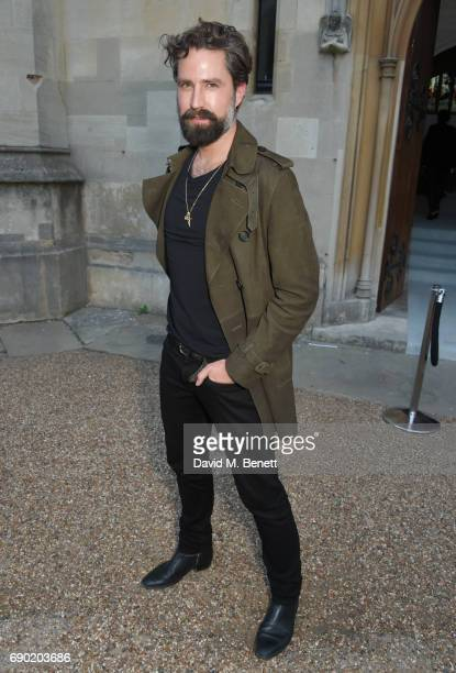 Jack Guinness attends the ALEXACHUNG London Launch Summer 17 Collection Reveal at the Danish Church of Saint Katharine on May 30 2017 in London...