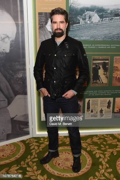 Jack Guinness attends the Barbour presentation during London Fashion Week Men's January 2019 at Lancaster House on January 7, 2019 in London, England.