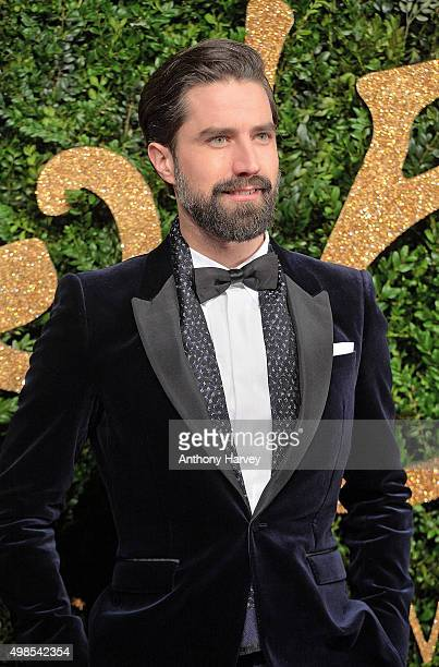 Jack Guinness attends the British Fashion Awards 2015 at London Coliseum on November 23 2015 in London England