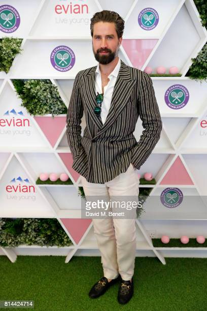 Jack Guinness attends the evian Live Young suite during Wimbledon 2017 on July 14 2017 in London England