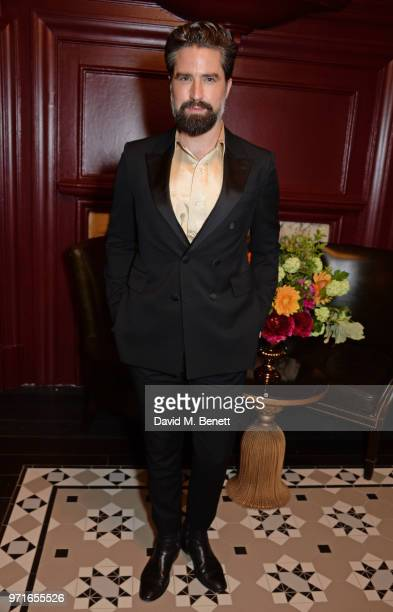 Jack Guinness attends the GQ Dinner cohosted by Dylan Jones and Loyle Carner to celebrate London Fashion Week Men's June 2018 at Neptune At The...
