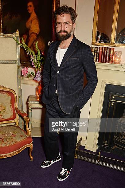 Jack Guinness attends the Gucci party at 106 Piccadilly in celebration of the Gucci Cruise 2017 fashion show on June 2 2016 in London England