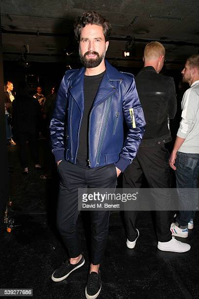 Jack Guinness attends the House of Holland presentation during The London Collections Men SS17 at BFC Presentation Space on June 10 2016 in London...