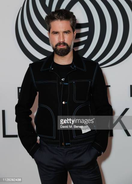 Jack Guinness attends the International Woolmark Prize 18/19 Final show during London Fashion Week February 2019 at Lindley Hall on February 16 2019...
