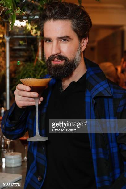 Jack Guinness attends the launch of Cafe Belvedere a dedicated Belvedere and coffee cocktail popup open from Thursday until Sunday on February 14...