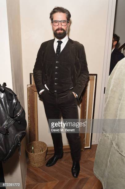 Jack Guinness attends the launch of the MR PORTER own label Mr P on November 9 2017 in London England