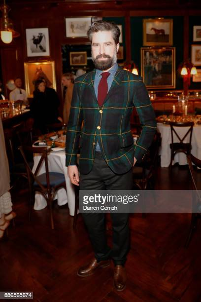Jack Guinness attends the Polo Bear Holiday Dinner hosted by Polo Ralph Lauren and Alexandra Richards at RalphÕs Coffee Bar on December 5 2017 in...