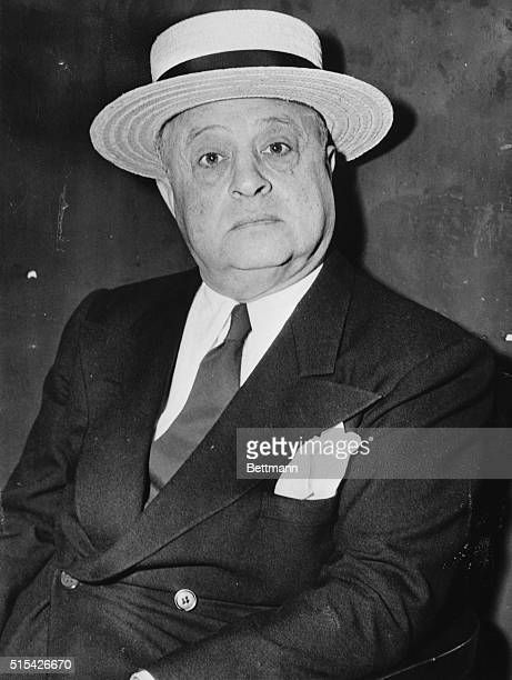 Jack Guzik reported to be a member of the Al Capone gambling syndicate as he appeared at the detective bureau for questioning in the attempted...