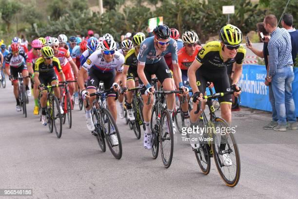 Jack Haig of Australia and Team Mitchelton-Scott / Tim Wellens of Belgium and Team Lotto Soudal / Zdenek Stybar of Czech Republic and Team Quick-Step...