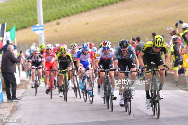 Jack Haig of Australia and Team MitcheltonScott / Tim Wellens of Belgium and Team Lotto Soudal / Zdenek Stybar of Czech Republic and Team QuickStep...