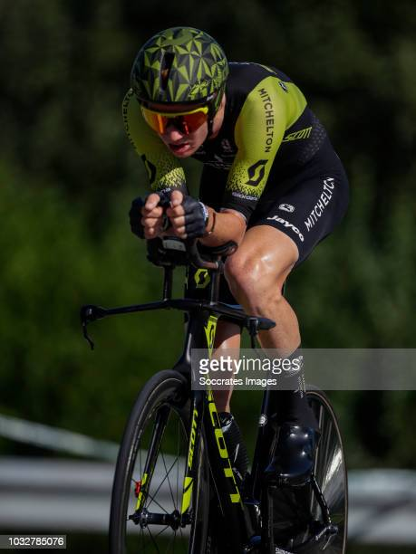 Jack Haig of Mitchelton Scott during the Vuelta on September 11 2018