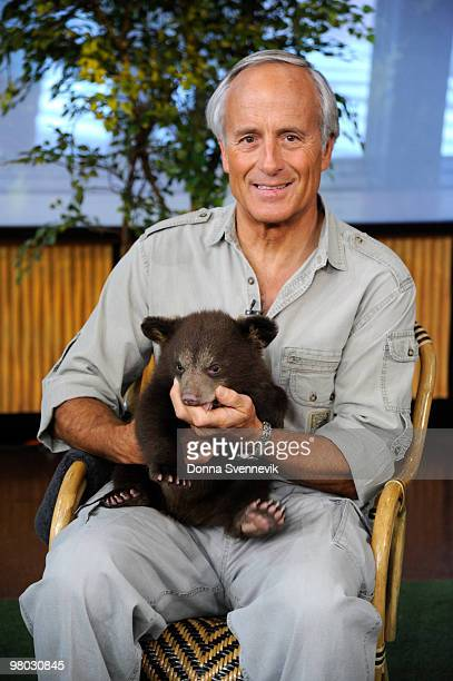 Jack Hanna brings his animal friends to GOOD MORNING AMERICA, 3/24/10 airing on the Walt Disney Television via Getty Images Television Network. GM10...