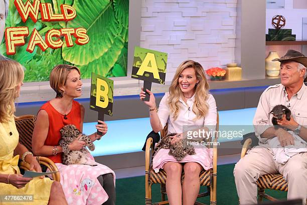 """Jack Hanna brings his animals to """"Good Morning America,"""" 6/16/15, airing on the Walt Disney Television via Getty Images Television Network."""