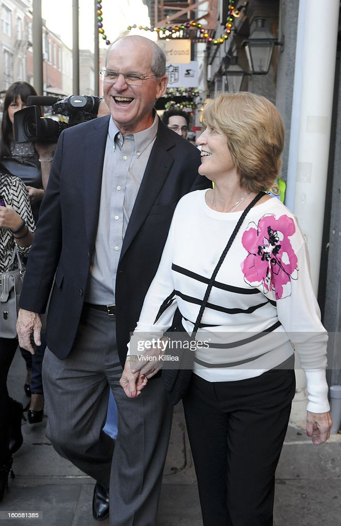 Jack Harbaugh and Jackie Harbaugh attend Starter Parlor - Super Bowl XLVII on February 2, 2013 in New Orleans, Louisiana.
