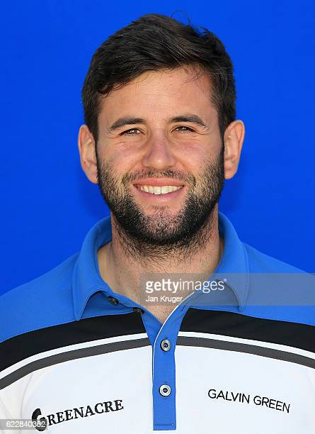 Jack Harrison of England during the first round of the European Tour qualifying school final stage at PGA Catalunya Resort on November 12 2016 in...