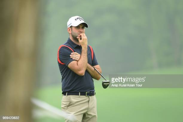 Jack Harrison of England pictured during round one of the 2018 Asia Pacific Classic at St Andrews Golf Club on May 17 2018 in Zhengzhou Henan China
