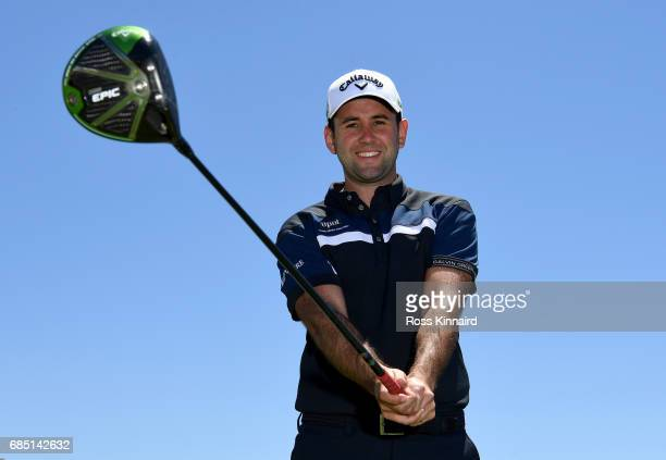 Jack Harrison of England poses for a portrait during the first round of Andalucia Costa del Sol Match Play at La Cala Resort on May 18 2017 in La...