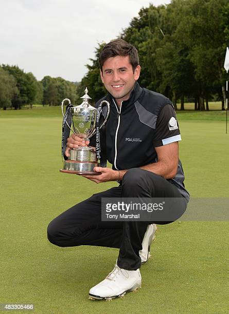 Jack Harrison of Wildwood Golf and Country Club celebrates with the trophy after winning the Galvin Green PGA Assistants' Championship Day 3 at...