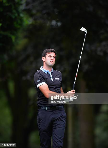 Jack Harrison of Wildwood Golf and Country Club during the Galvin Green PGA Assistants' Championship Day 3 at Coventry Golf Club on August 7 2015 in...