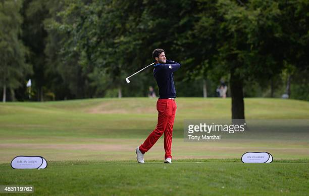 Jack Harrison of Wildwood Golf and Country Club plays his first shot on the 5th tee during the Galvin Green PGA Assistants' Championship Day 2 at...