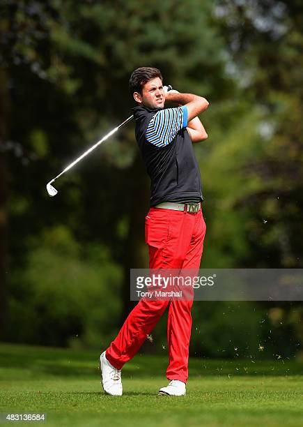 Jack Harrison of Wildwood Golf and Country Club plays his first shot on the 15th tee during the Galvin Green PGA Assistants' Championship Day 2 at...