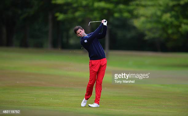 Jack Harrison of Wildwood Golf and Country Club plays his second shot on the 6th fairway during the Galvin Green PGA Assistants' Championship Day 2...