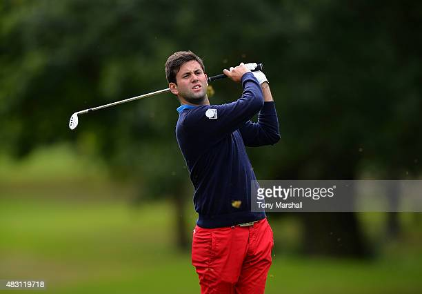 Jack Harrison of Wildwood Golf and Country Club plays his third shot on the 6th fairway during the Galvin Green PGA Assistants' Championship Day 2 at...