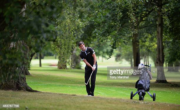 Jack Harrison of Wildwood Golf and Country Club third shot on the 6th fairway during the Galvin Green PGA Assistants' Championship Day 3 at Coventry...