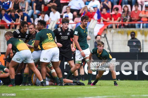 Jack Hart of South Africa during the World Championship U20 3rd place match between South Africa and New Zealand on June 17 2018 in Beziers France