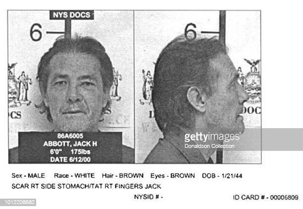 Jack Henry Abbott posed for this New York State Department of Correctional Services mug shot in June 2000