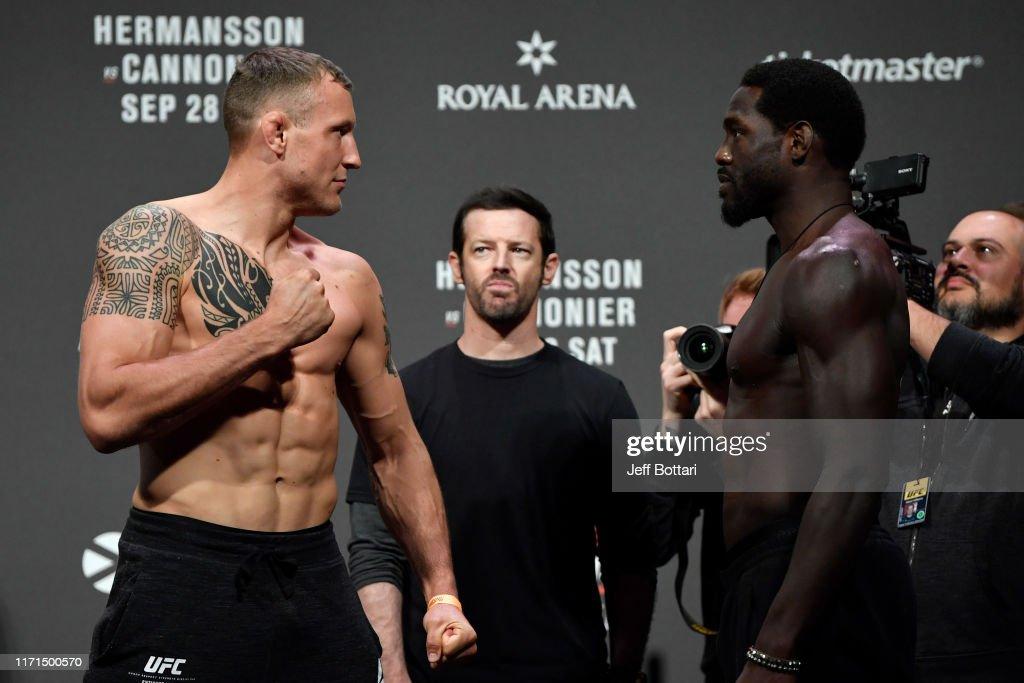 UFC Fight Night: Weigh-ins : News Photo