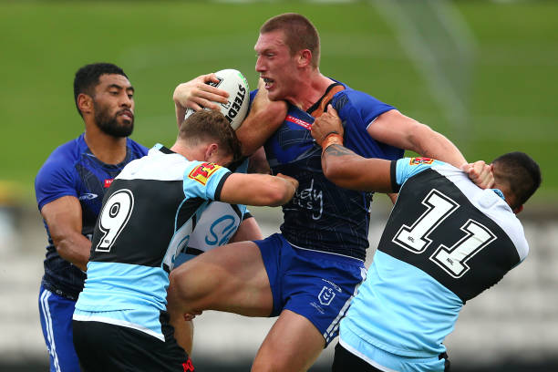 AUS: NRL Trial Match - Sharks v Bulldogs