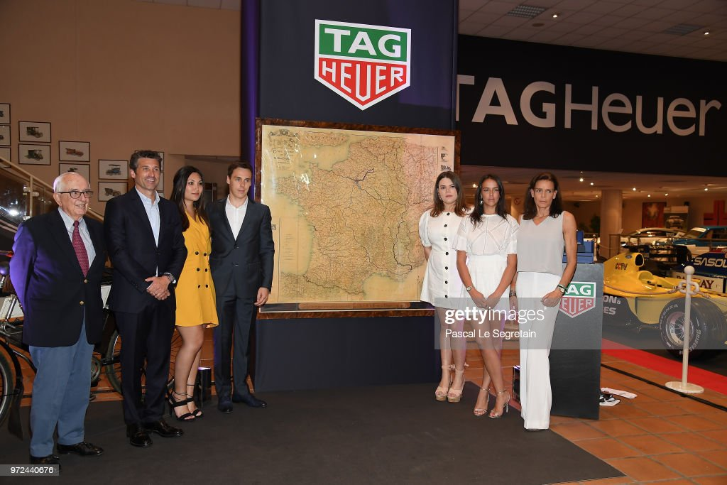 TAG Heuer Hosts Patrick Dempsey In Monaco