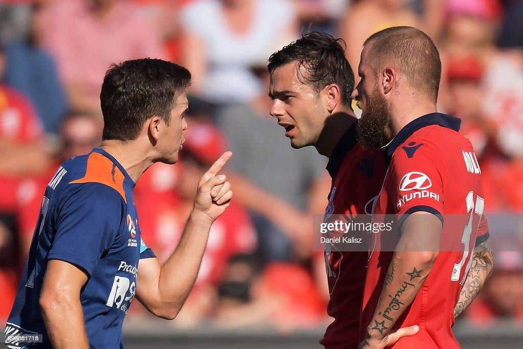 A-League Rd 13 - Adelaide v Brisbane : News Photo