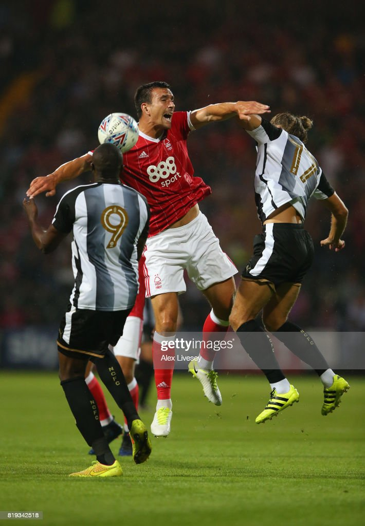 Notts County v Nottingham Forest - Pre Season Friendly