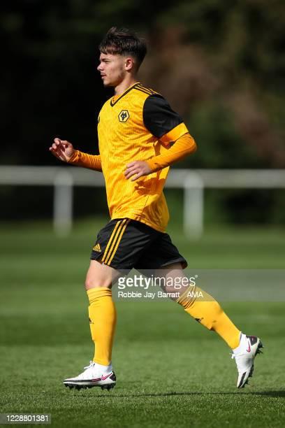 Jack Hodnett of Wolverhampton Wanderers U18 during the Under 18s Premier League match between Blackburn Rovers U18 and Wolverhampton Wanderers U18 at...