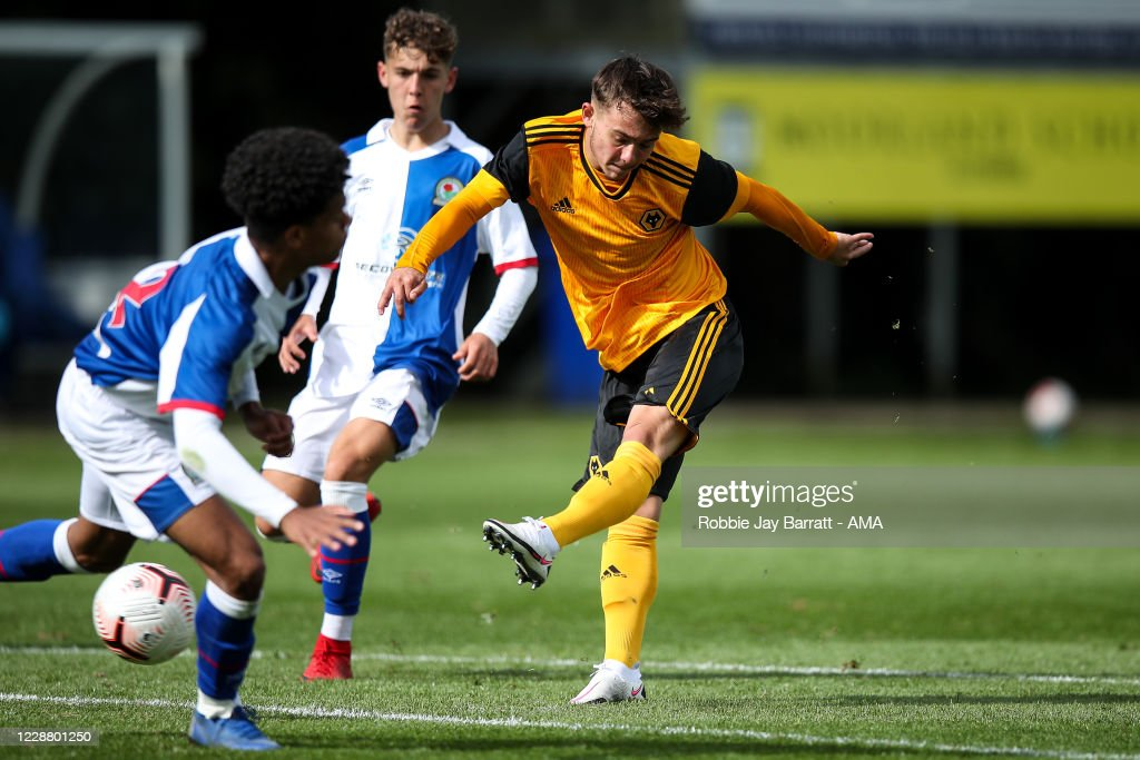 Blackburn Rovers U18 v Wolverhampton Wanderers U18 - Under 18s Premier League : News Photo