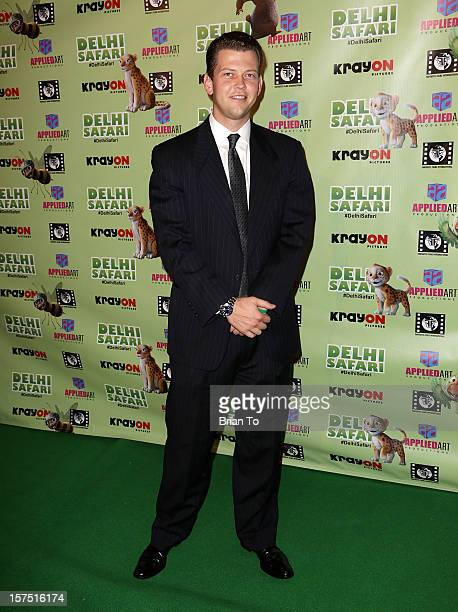 Jack Holcomb attends 'Delhi Safari' Los Angeles premiere at Pacific Theatre at The Grove on December 3 2012 in Los Angeles California