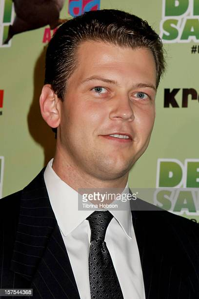 Jack Holcomb attends the Delhi Safari Los Angeles premiere at Pacific Theatre at The Grove on December 3 2012 in Los Angeles California