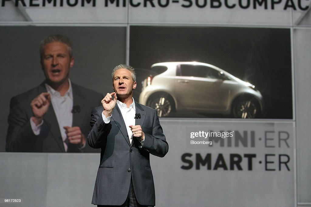 jack hollis head of u s scion sales for toyota motor sales usa news photo getty images. Black Bedroom Furniture Sets. Home Design Ideas
