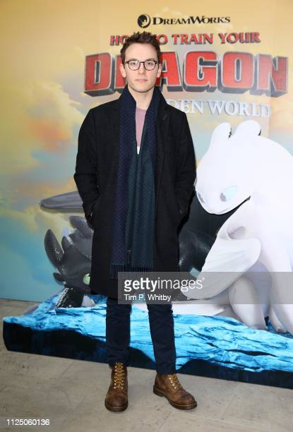 Jack Howard attends How To Train Your Dragon The Hidden World – Immersive Screening on January 26 2019 in London England