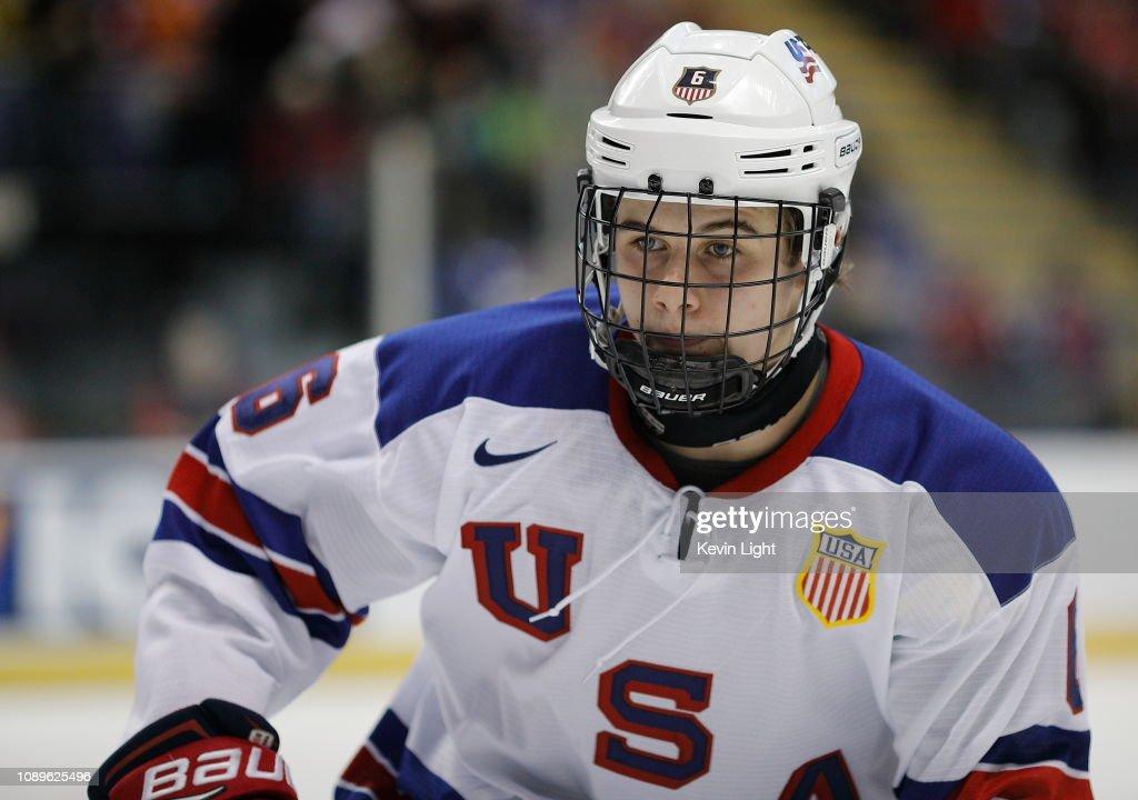 United States v Czech Republic: Quarterfinals - 2019 IIHF World Junior Championship : News Photo