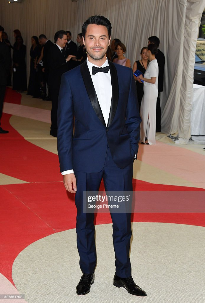 Jack Huston attends the 'Manus x Machina: Fashion in an Age of Technology' Costume Institute Gala at the Metropolitan Museum of Art on May 2, 2016 in New York City.