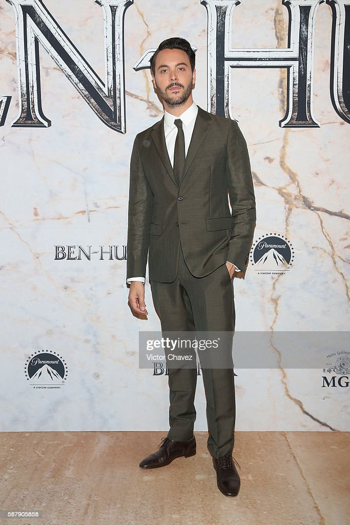 Ben-Hur Mexico Premiere - Red Carpet