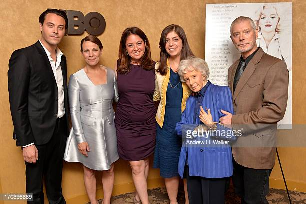 Jack Huston Lili Taylor Liz Garbus Nancy Abraham Amy Greene and Stephen Lang attend HBO's Love Marilyn New York Screening at HBO Theater on June 12...