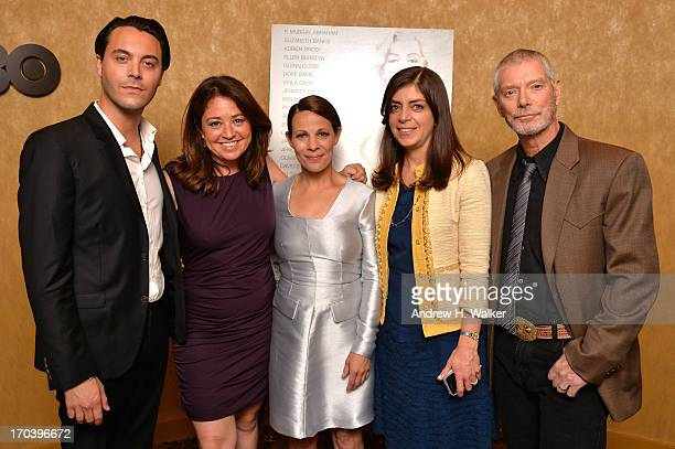 Jack Huston Liz Garbus Lili Taylor Nancy Abraham and Stephen Lang attend HBO's Love Marilyn New York Screening at HBO Theater on June 12 2013 in New...