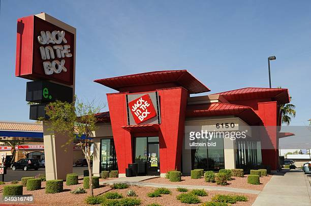Jack in the Box HamburgerFastFoodKette mit mehr als 2000 Schnellrestaurants Systemgastronomie Fast Food Filiale in Nevada