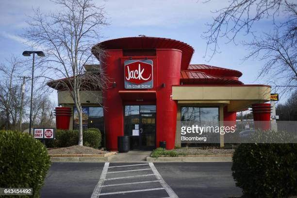 A Jack In The Box Inc fast food restaurant stands in Nashville Tennessee US on Thursday Feb 9 2017 Jack in The Box Inc is scheduled to release...