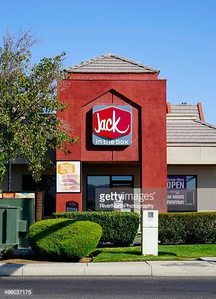 jack in the box - jack in the box stock photos and pictures