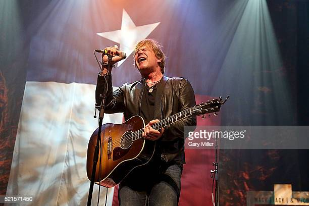 Jack Ingram performs in concert during the 4th annual Mack Jack McConaughey charity event at ACL Live on April 15 2016 in Austin Texas